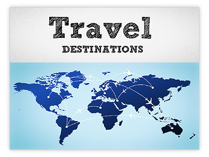Travel Destinations Template