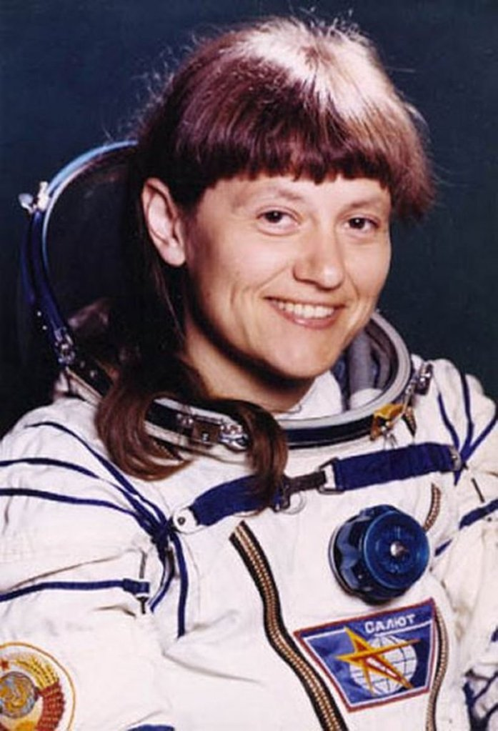 First female spacewalker: Svetlana Savitskaya